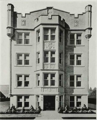 A former home of the School of Music (1932-1937). Location 720 South Brook