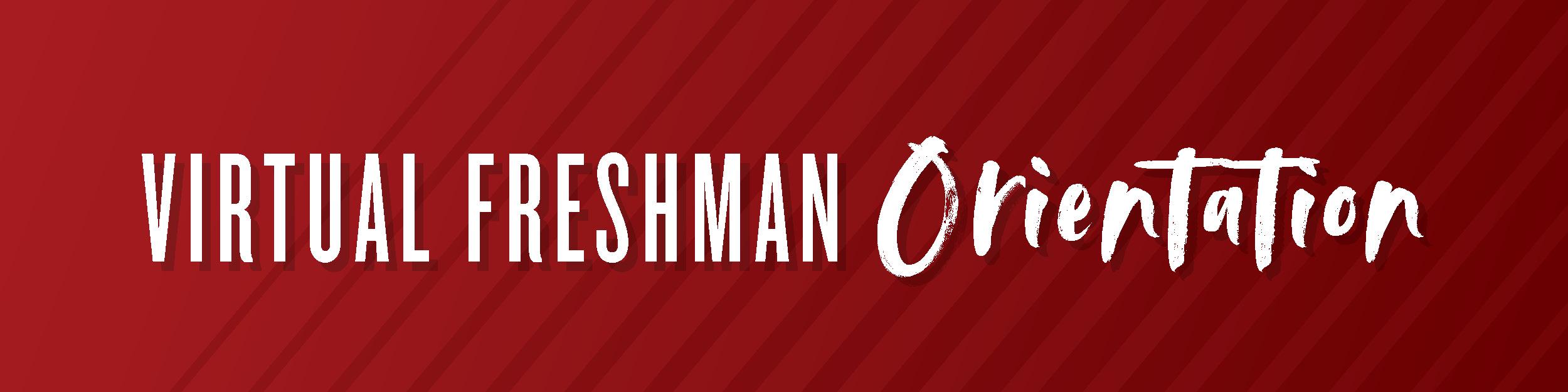 Virtual Freshman Orientation