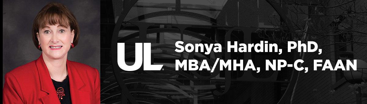 Office of the Dean Sonya Hardin, PhD, MBA/MHA, NP-C, FAAN