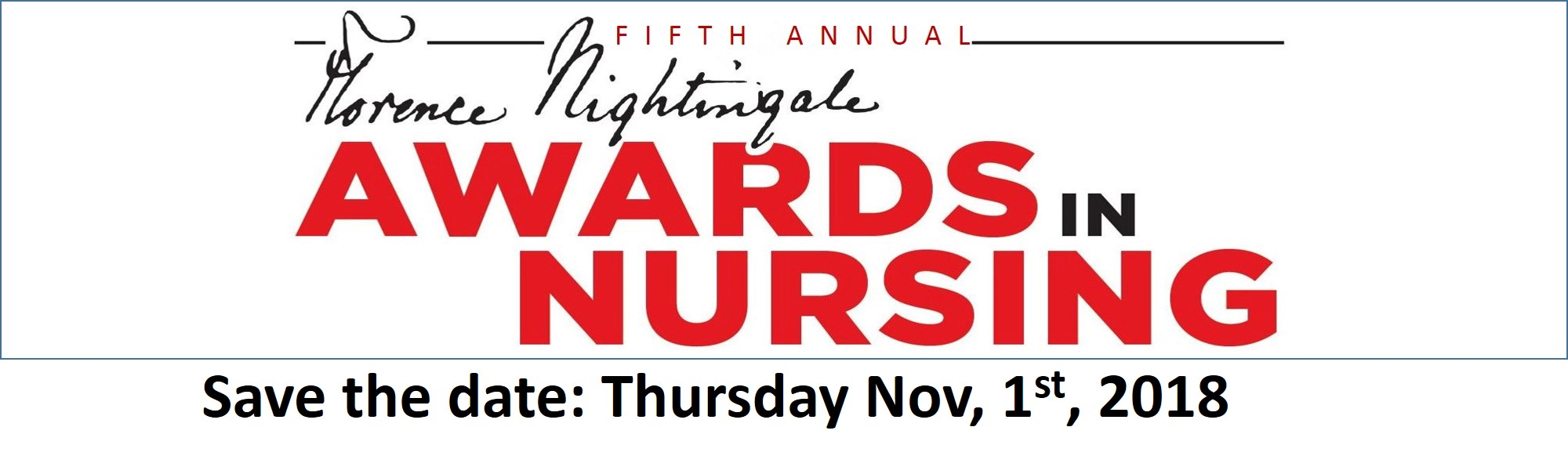 Florence Nightingale Awards in Nursing 2018