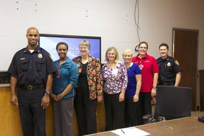 Newborn Home Fire Safety Team