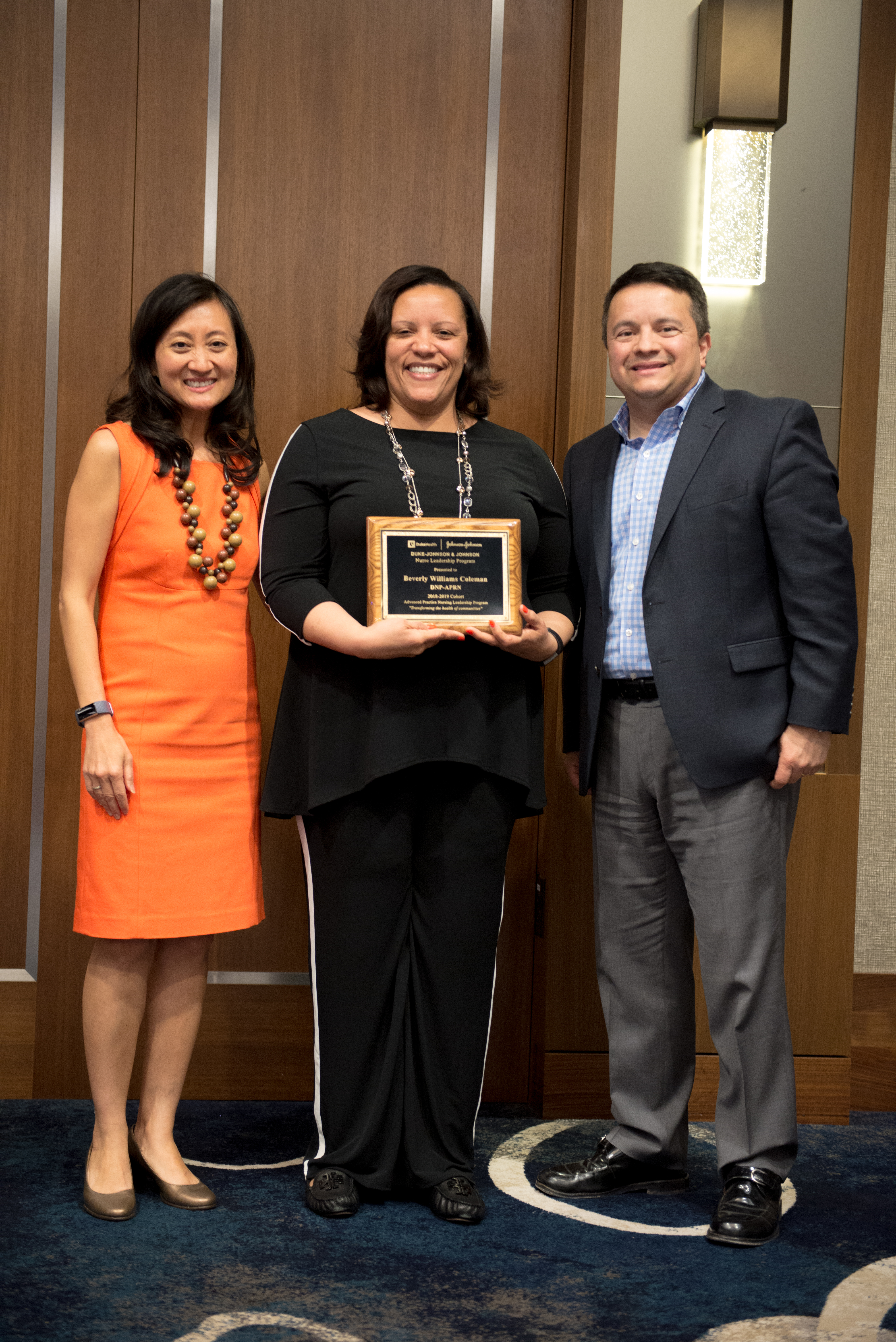 Assistant professor graduates Duke-Johnson & Johnson Nurse Leadership Program