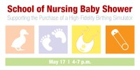 Baby shower to support birthing simulator purchase