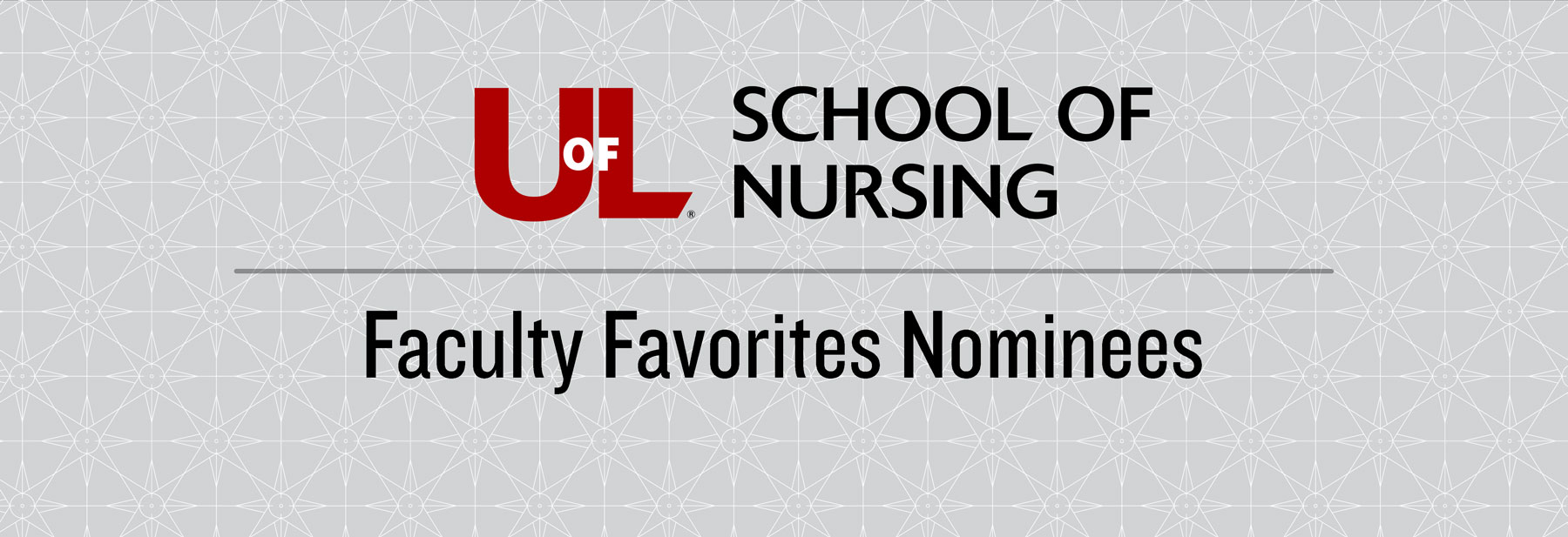 School of Nursing Faculty Favorites Nominees