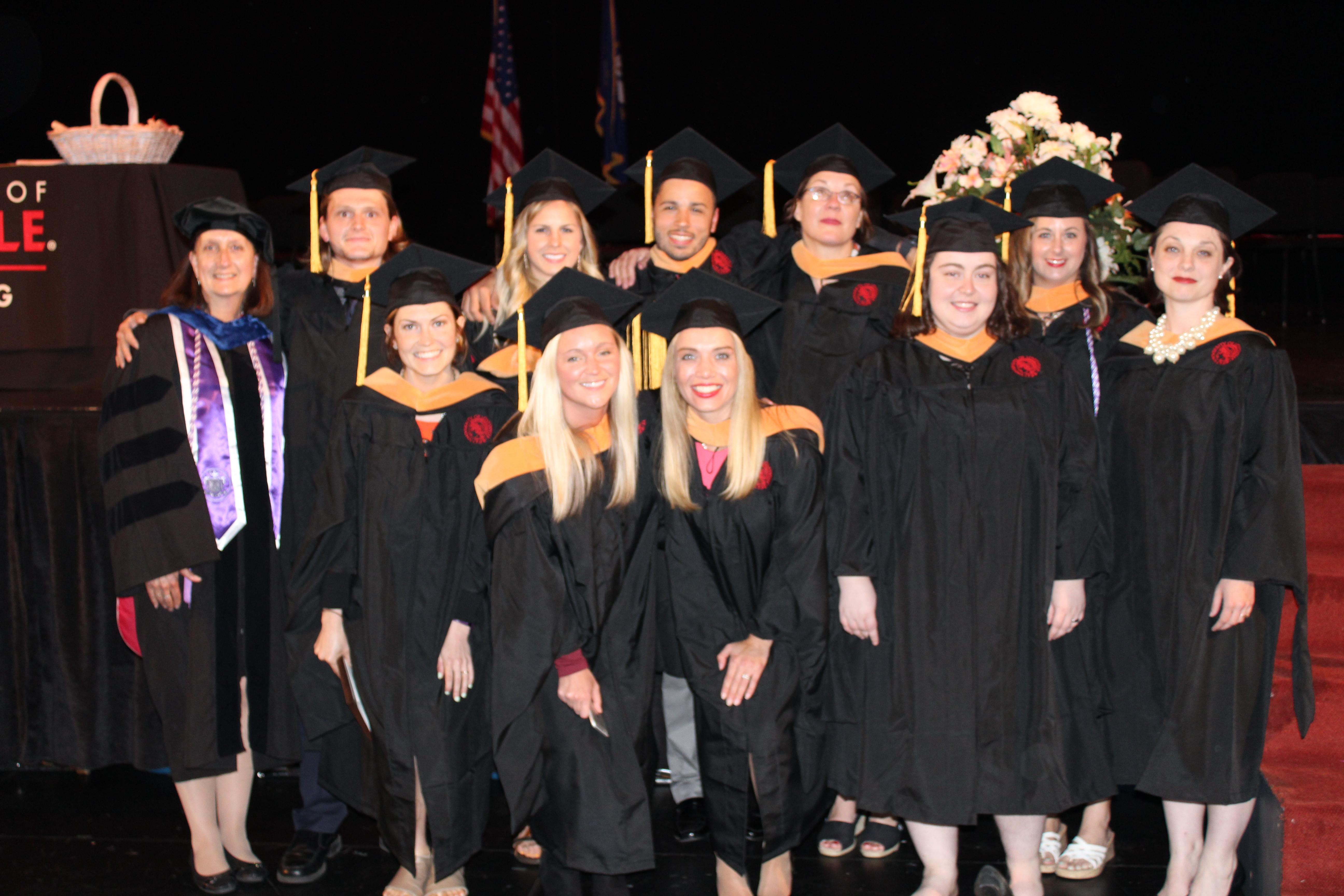 MEPN second degree program graduates first class