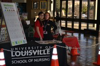Nursing faculty, students provide screenings, health education at National Farm Machinery Show