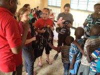 Nursing student, assistant professor provide care in Tanzania