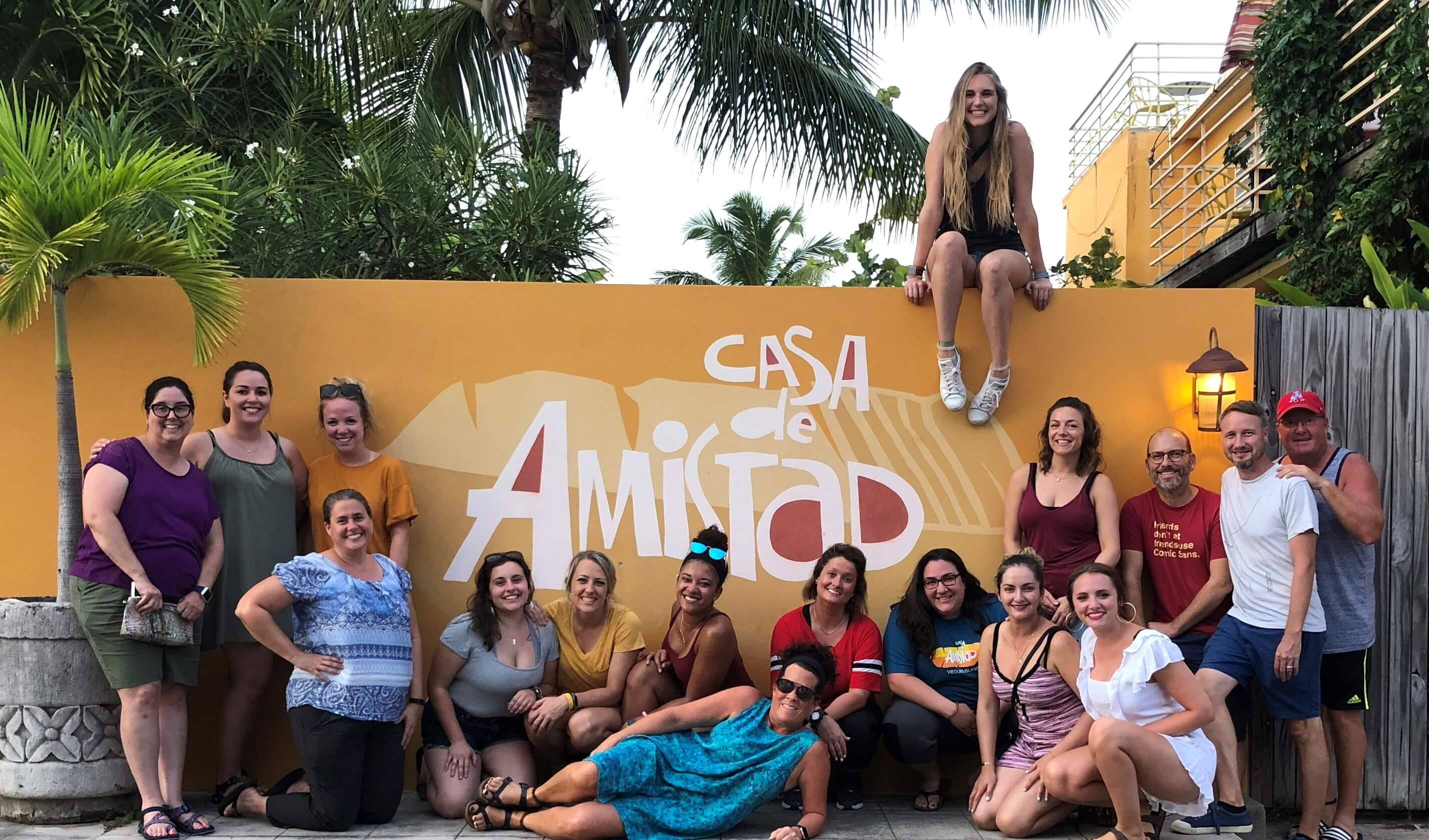 Nursing Students Participate in Service Learning Program to Puerto Rico