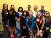 Nursing students present at Research and Community Engagement Symposium