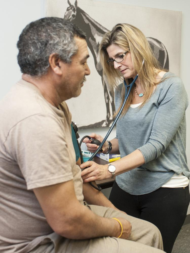 Racetrack clinic named finalist for Health Care Heroes award