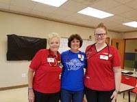 School of Nursing group volunteers at RAM clinic in Hazard, Ky