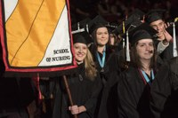 School of Nursing spring convocation, graduation ceremonies