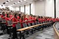 Spring 2017 Nursing Transition Ceremony welcomes new upper division students