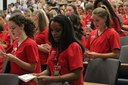 Transition Ceremony welcomes 90 students to nursing profession