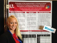 UofL research group wins award at international perinatal mental health conference