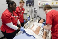 UofL School of Nursing, Trilogy Health Services, LLC, dedicate simulation lab, announce collaboration to strengthen health care workforce