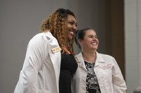 UofL's first DNP class marks transition to advanced clinical care at white coat ceremony