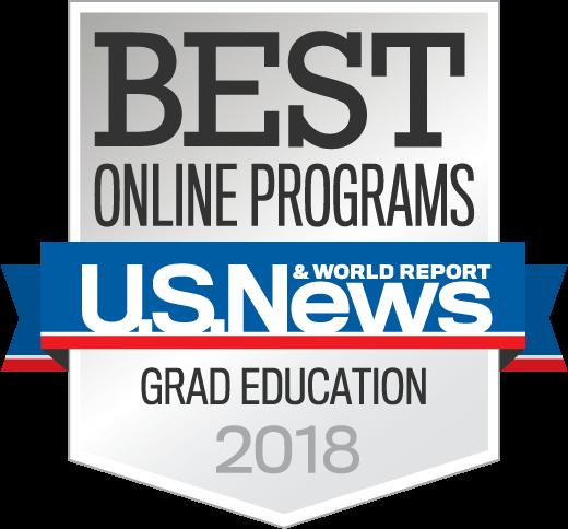 Badge OnlinePrograms GradEducation 2018