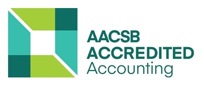 AACSB logo - acredited accounting