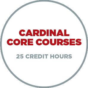 1. Cardinal Core Courses - 25 Credit Hours