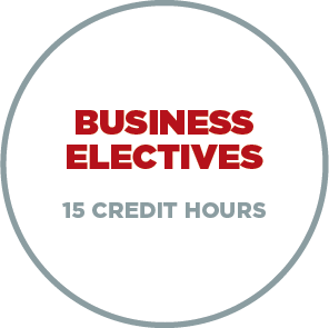 3. Business Electives - 15 Credit Hours