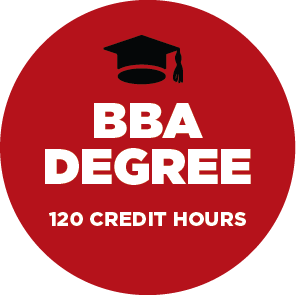 BBA Degree - 120 credit hours