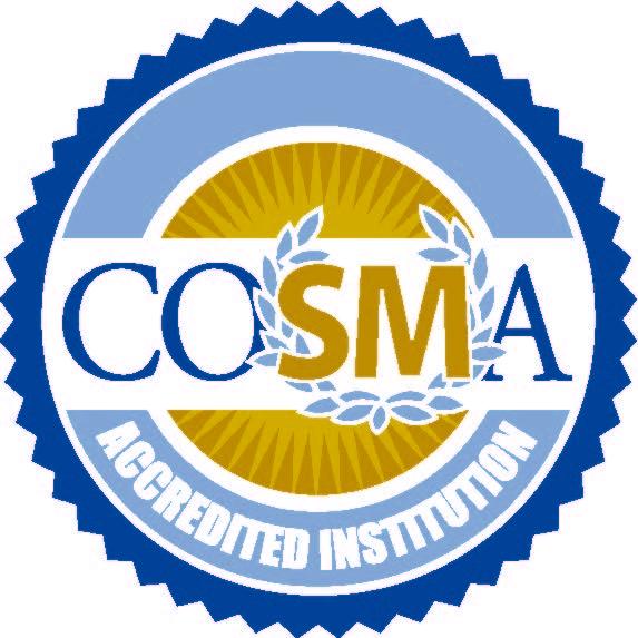 Cosma Accredited Institution
