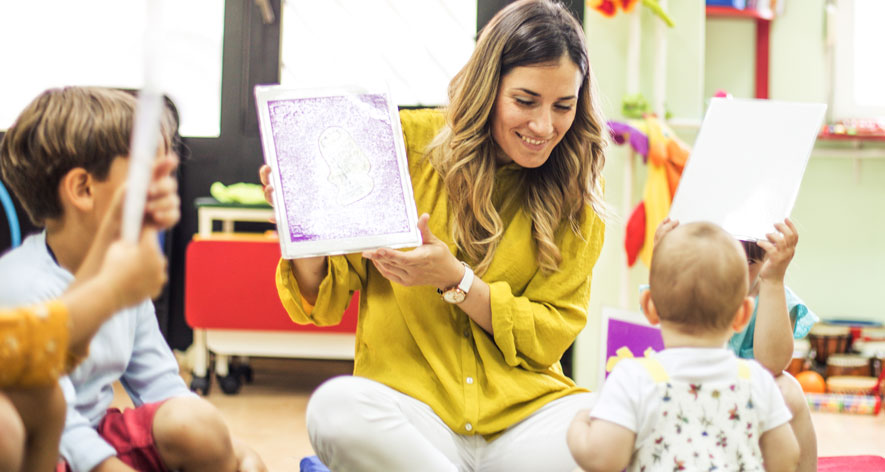 Online learning video - Online MAT in Interdisciplinary Early Childhood Education - A