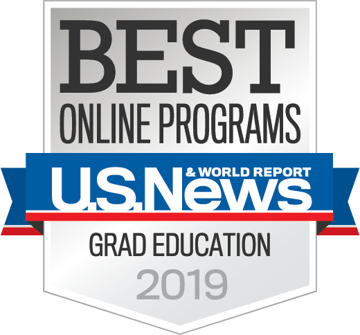 Badge OnlinePrograms GradEducation 2019