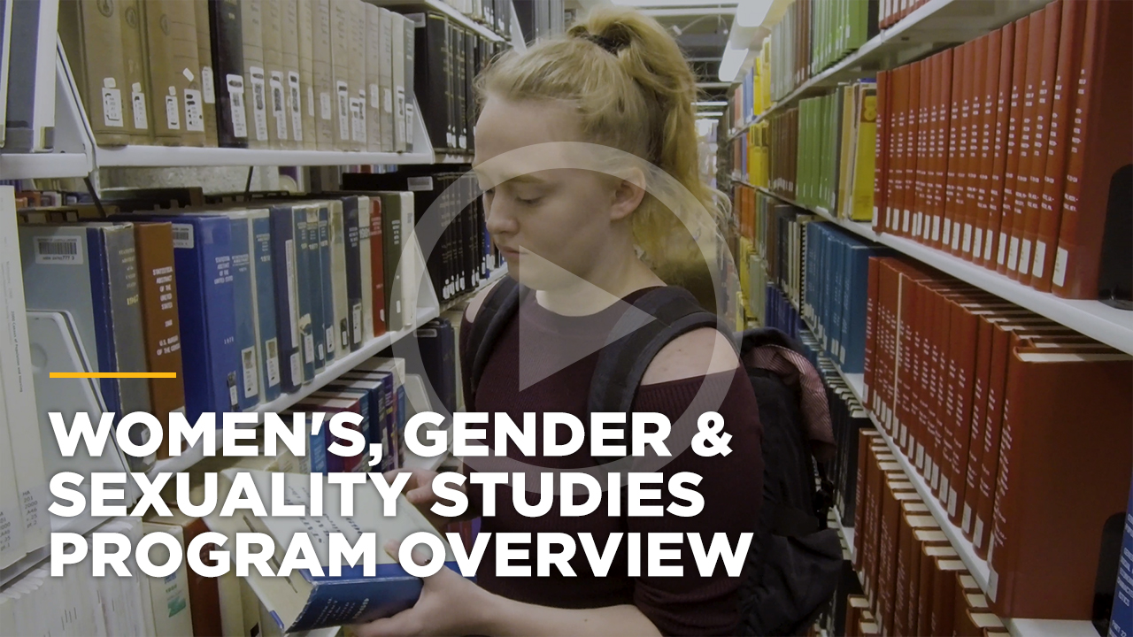 Online learning video - Online Bachelor of Arts in Women's, Gender and Sexuality Studies