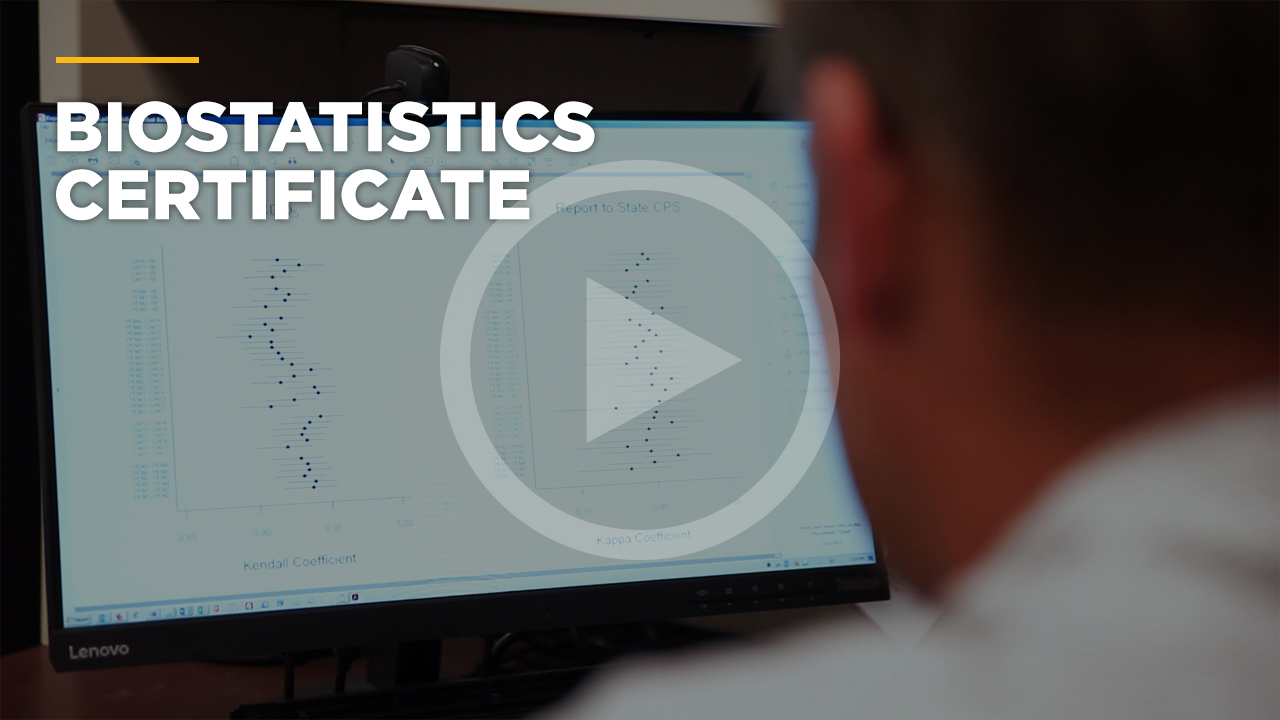 Online learning video - Master of Science in Biostatistics