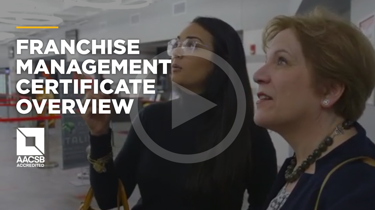 Online learning video - Online Franchise Management Certificate