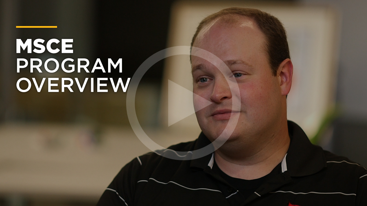 Online learning video - Online Master of Science in Civil Engineering
