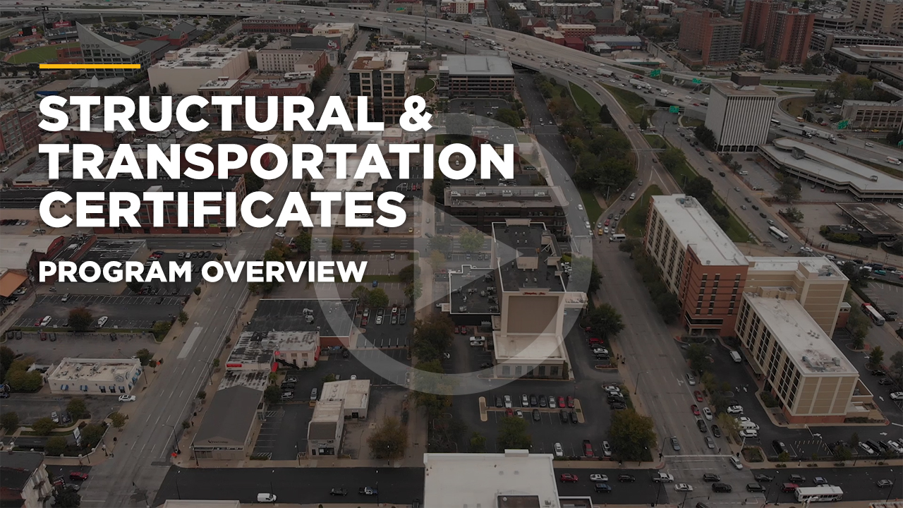 Online learning video - Online Graduate Certificate in Transportation Engineering