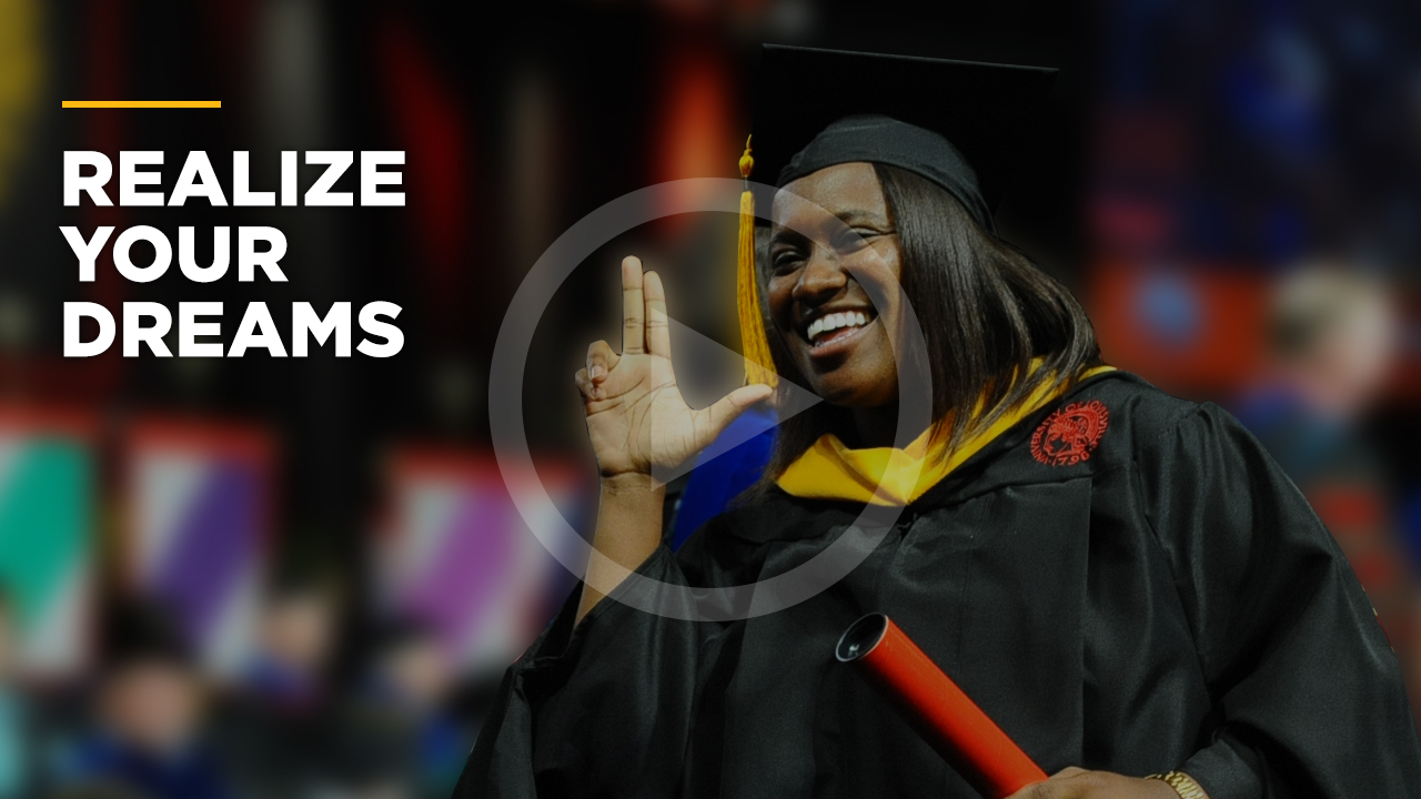 Online learning video - Realize Your Dreams With UofL Online