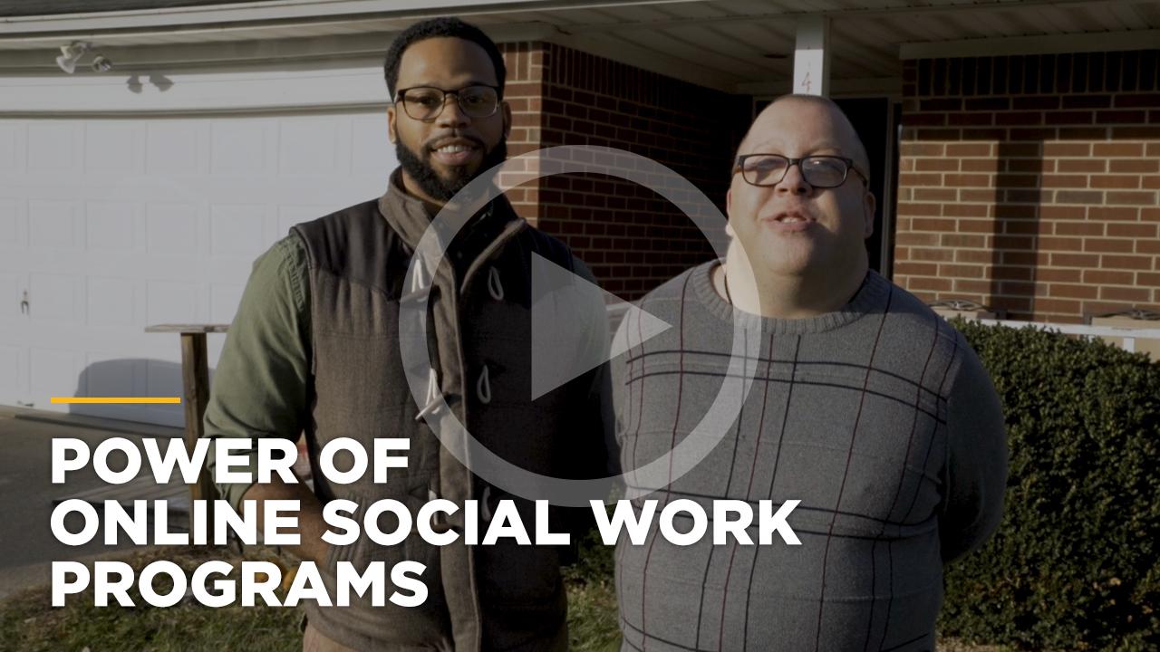 Online learning video - Online Bachelor of Social Work