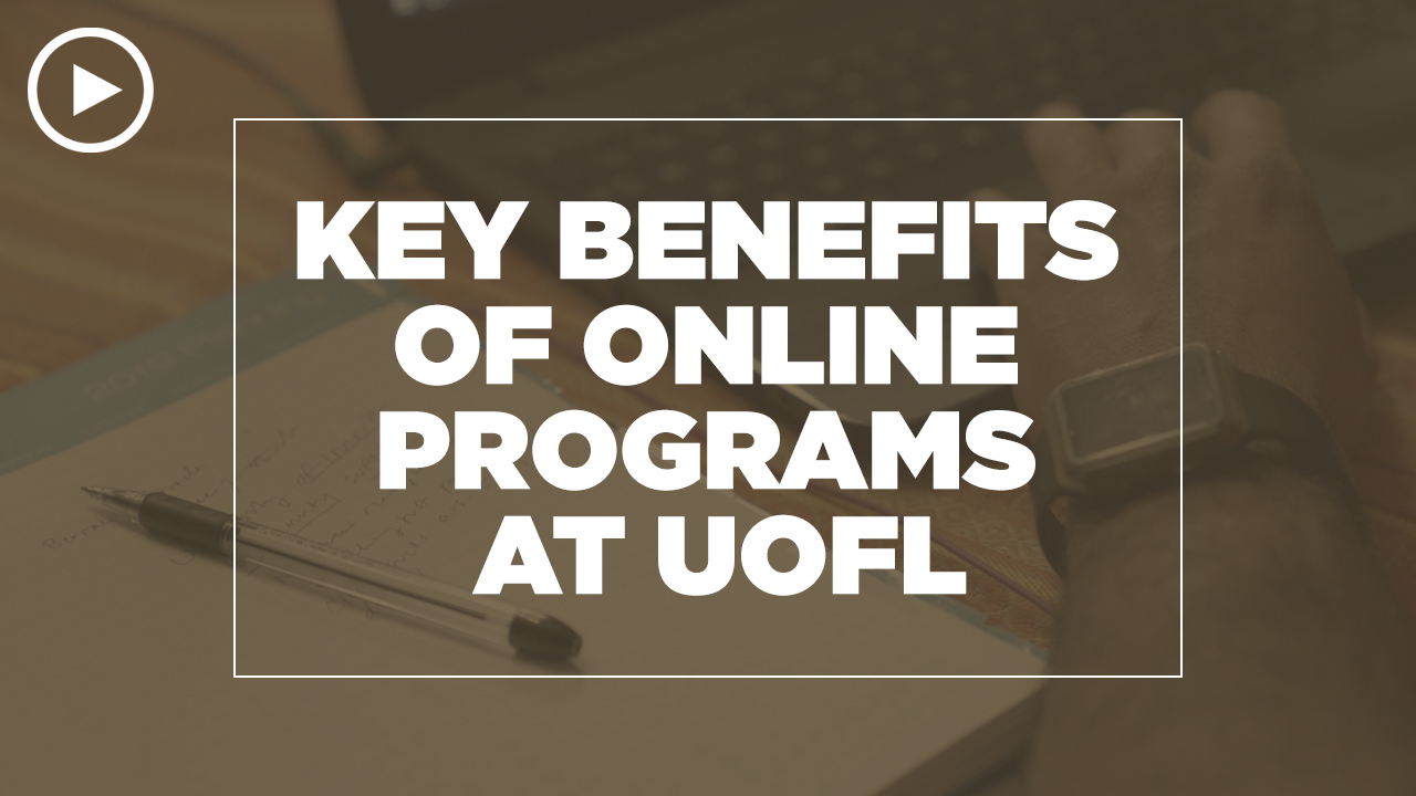 Online learning video - What are the benefits of online programs at UofL?