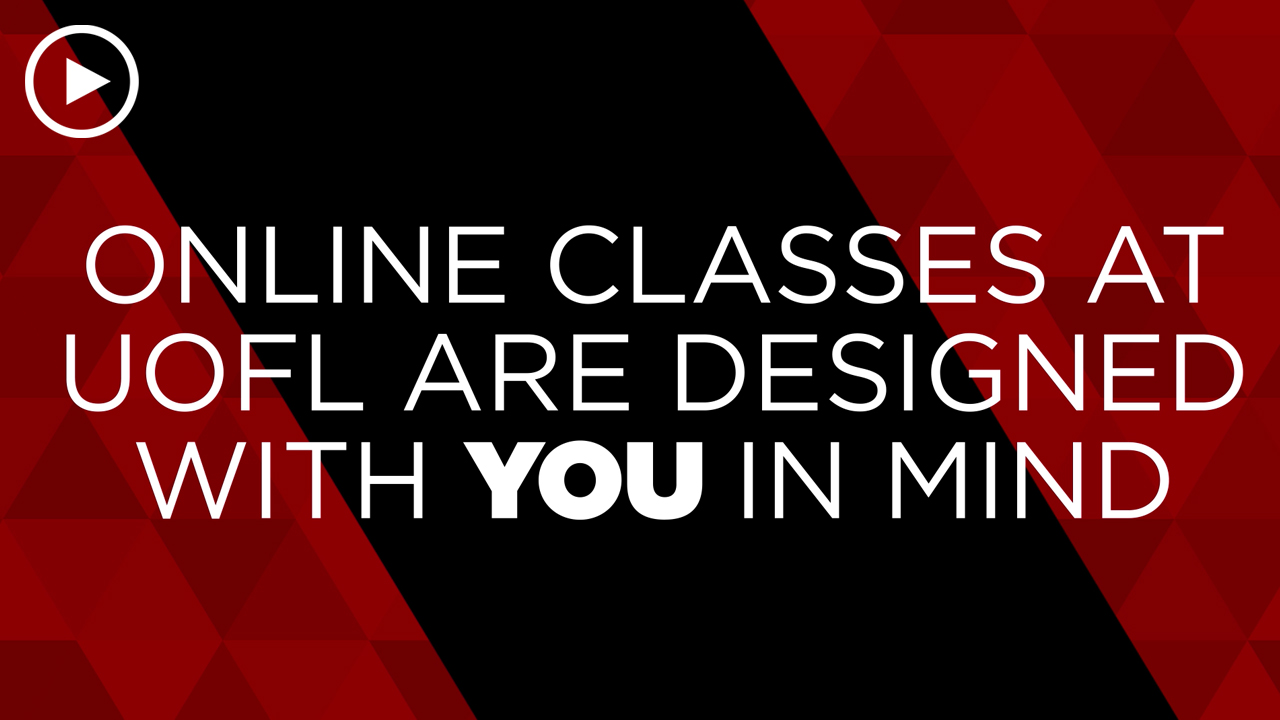 Online learning video - Online classes are designed with you in mind