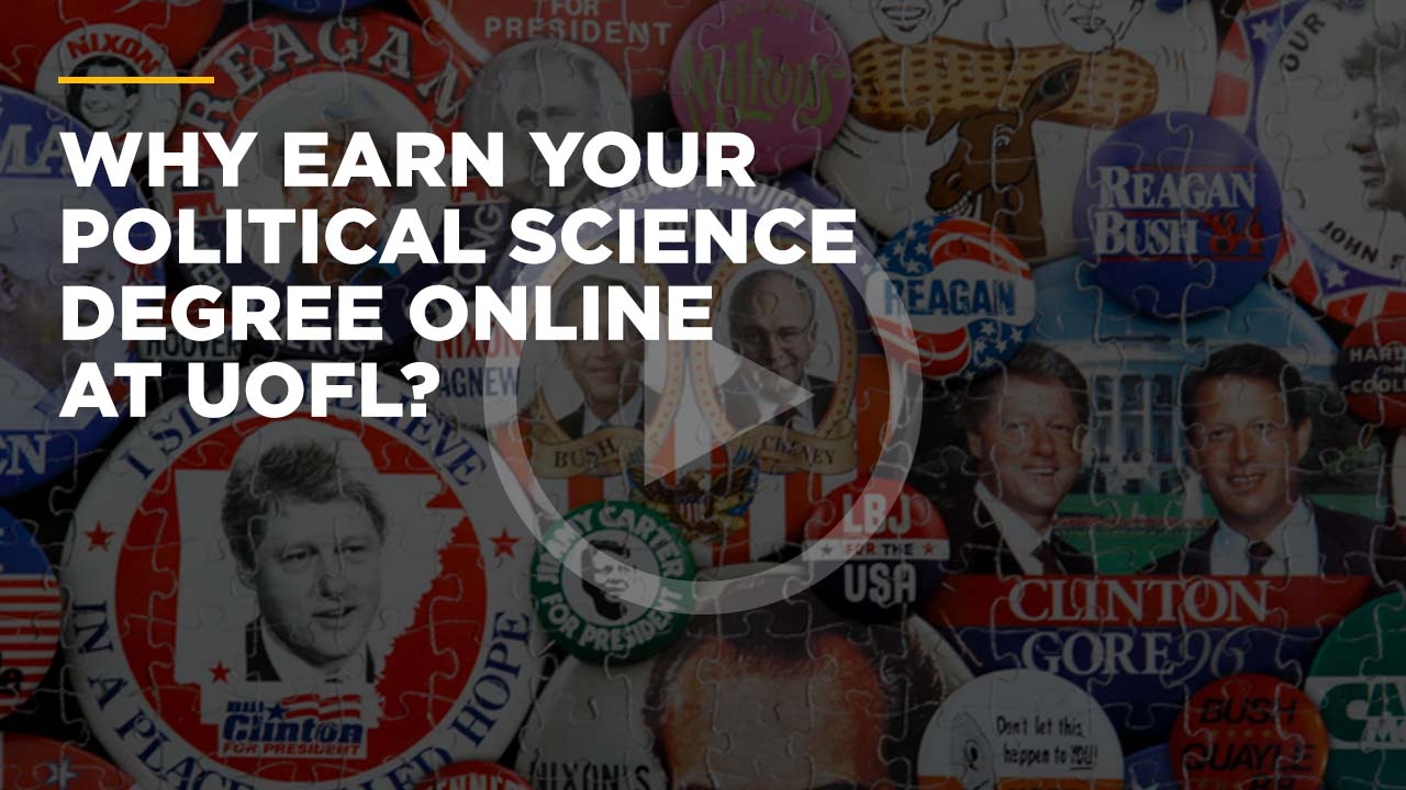 Why Earn Your Political Science Degree Online @ UofL