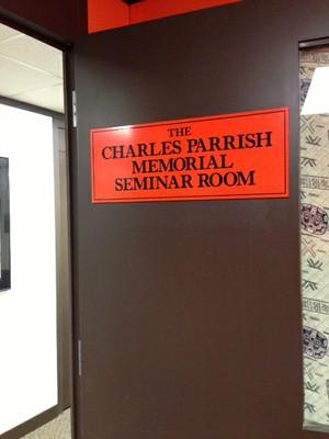 Charles Parrish Seminar Room Entrance