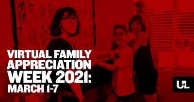 Virtual family appreciation week is March 1-7