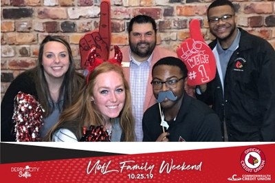 image of uofl parents association staff and interns