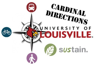 Cardinal Directions is UofL's trip-planning and carpool-matching service at directions.louisville.edu