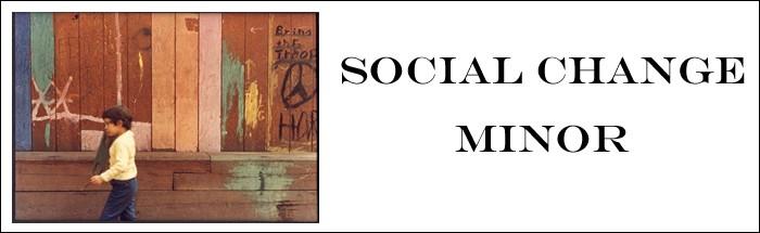 social change minor banner image