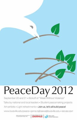 Peace Day 2012 poster