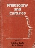 Philosophy and Cultures
