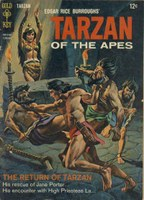 Image of Tarzan book cover