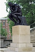 Image of Rodin's The Thinker at University of Louisville