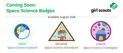 Images of GS badges being launched August 2018