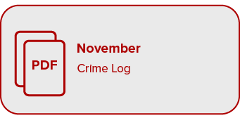 Link to November Crime Log